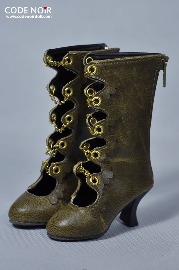 CLS000125 Carob x Golden Chain Boots
