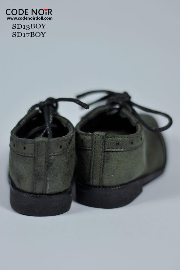 Bjd Black Cross Shoes