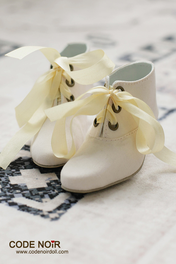 CLS000139 Ivory Ankle Boots [CLS000139] - US$38 80